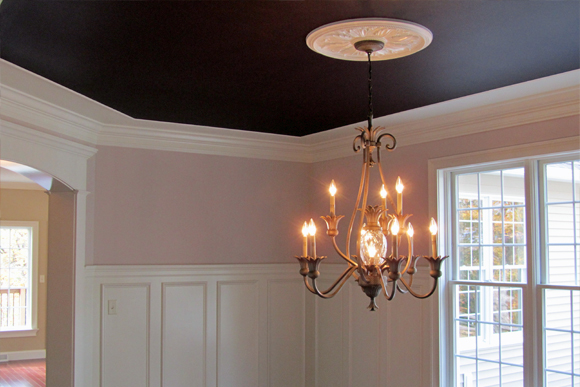 Dark Ceilings Are Dramatic Design Build Remodel