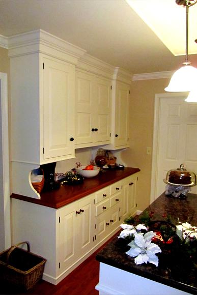 Custom Hutch Cabinet