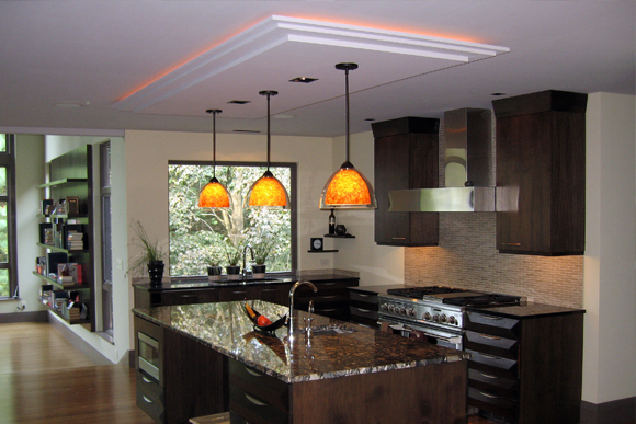 Contemporary Kitchen & Lighting u2013 Nordstromu0027s vs. Wal-Mart | Design | Build | Remodel