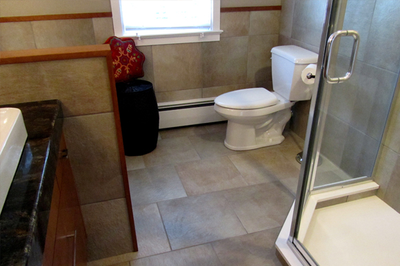 Bath Remodel, Main Line