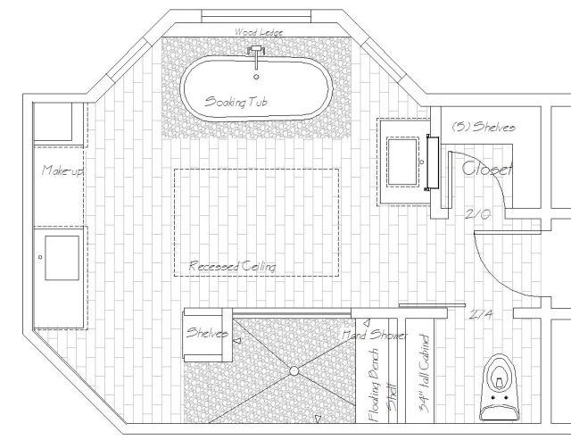 Bath Floor plan
